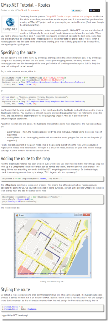 Gmap net android